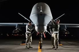 drone war pushes pilots to breaking point lovesick cyborg airman 1st class steven left and airman 1st class taylor prepare an mq