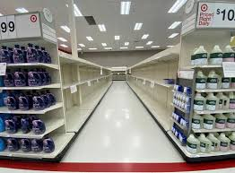 Panic buying of <b>toilet paper</b> hits US stores again with new pandemic