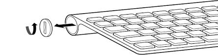 Замена элементов питания <b>беспроводной клавиатуры Apple</b> ...