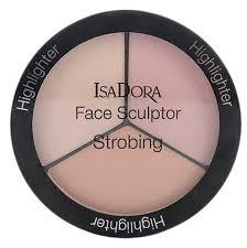 IsaDora <b>Палетка хайлайтеров для</b> лица Face Sculptor Strobing ...