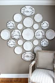 home decor plate x: michelle i love this example of a decorative plate wall for your dr great