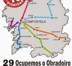 Marchas da dignidade Columna Galega das Marchas da Dignidade.