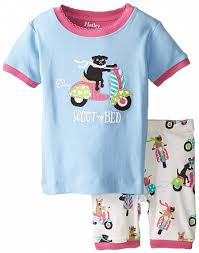 <b>Пижама для девочки</b> с собачкой на мопеде от <b>Hatley</b> ...
