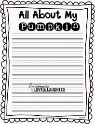 teaching love and laughter pumpkin writing bulletin board i do these kinds of directed writing lessons often because they really help the children learn how to write an organized paragraph