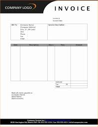 invoice template for word invoice template service invoice template word