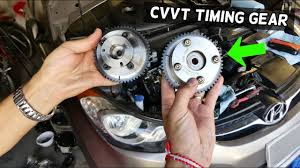 how to replace <b>cvvt</b> timing gear <b>on hyundai elantra</b> 1.8 2.0 nu