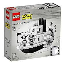 LEGO Mickey Mouse Steamboat Willie Set 21317 ... - Amazon.com
