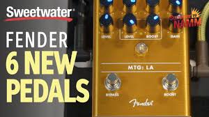 6 <b>New</b> Fender Pedals at <b>Summer</b> NAMM <b>2019</b> - YouTube