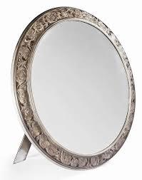table mirror: rene lalique table mirror anemones anemones rene lalique table mirror