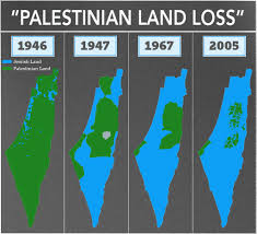 Image result for israel palestine map today