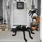<b>Halloween Prop Horror Giant</b> Black Spider Kids Children Haunted ...