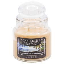 Candle-Lite <b>ароматическая свеча</b> с крышечкой Island Coconut ...