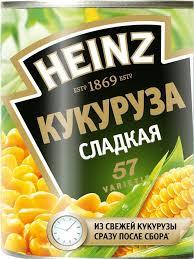 <b>Кукуруза сладкая</b> Хайнц 340г ж/б