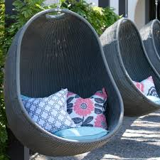 swing chair rattan outdoor furniture