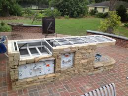 outdoor kitchens small outdoor kitchens and bbq island on pinterest amusing cool diy patio