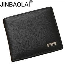 Popular <b>Jinbaolai Genuine Leather Men</b> Wallets Short-Buy Cheap ...