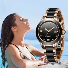 <b>SUNKTA 2019 New Rose</b> Gold Watch Women Quartz Watches ...