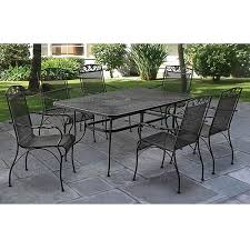 patio dining sets patio dining and dining sets on pinterest black wrought iron patio