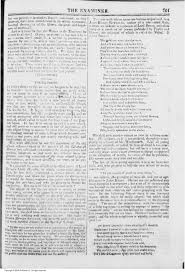leigh hunt s young poets essay dec the keats letters page 1 of ldquoyoung poets rdquo by leigh hunt from the examiner 1 dec 1816 courtesy british periodicals database click image for full size