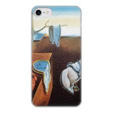 Чехол для iPhone 8, объёмная печать Постоянство памяти ...