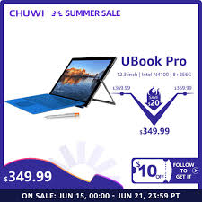 <b>CHUWI UBook</b> Pro 12.3 Inch 1920*1280 Windows 10 Tablet PC ...