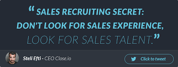 how to recruit your first top notch s rep for your startup startup s recruiting advice
