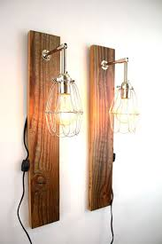 bedside reading lamps reclaimed wood wall lamp barn wood sconce bedside sconce lighting