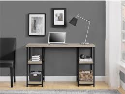 cool industrial office desk home office desk idea black desks for home office