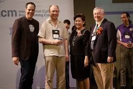 Stankevich Receives ACM ICPC Senior Coach <b>Award</b>