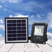 5W <b>Waterproof LED</b> COB Solar Light <b>Radar</b> Motion Sensor Flood ...