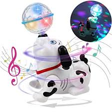 Buy Toyshine Dancing <b>Dog</b> with <b>Music</b> Flashing Lights Online at ...