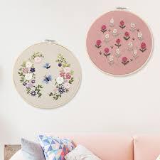 Beginner <b>DIY Ribbon</b> Flowers <b>Embroidery</b> Sets <b>Needlework Cross</b> ...