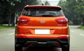 <b>Накладка на низ</b> заднего <b>бампера</b> для Hyundai Creta