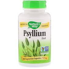 Nature's Way, <b>Psyllium Seed Husk</b>, <b>3,150</b> mg, 180 Vegan Capsules