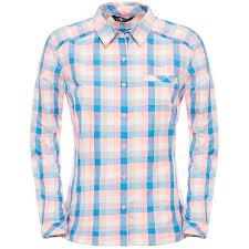 <b>Рубашка</b> для активного отдыха <b>THE NORTH FACE</b> 2016 W L/S ...
