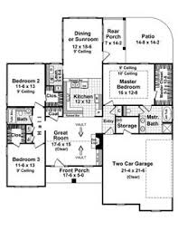 images about Plans on Pinterest   Floor Plans  House plans    Beautiful dining or sunroom    Plan D    houseplansandmore com