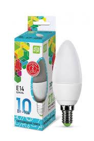 <b>Лампа</b> светодиодная <b>ASD</b> LED-<b>СВЕЧА</b>-STD 4000K, E14, C38, 10Вт