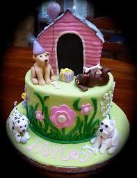 Decorated Birthday Cakes Puppy Cakes Decoration Ideas Little Birthday Cakes