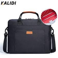 KALIDI 13.3 <b>15.6 Inch</b> Laptop <b>Bag Business</b> Men Briefcase Shoulder ...