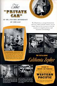 the story board ads the 1956 ad was made especially distinctive by the use of yellow as a reference to both the color of the locomotives and the gold that first