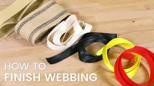How to Finish <b>Webbing</b> - YouTube