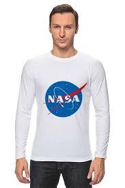 "Лонгслив ""Свитшот <b>NASA</b>"" #674827 от serrato - <b>Printio</b>"