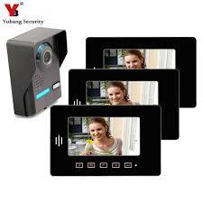<b>Yobang Security</b> 7 Inch TFT Touch Screen <b>Video Door</b> Phone Home ...