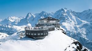 Gipfel des Schilthorn im Berner Oberland