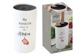 <b>Подставка для ножей Kitchen</b> Elements в подарочной упаковке ...