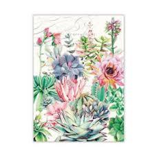 <b>Michel Design Works Pink</b> Cactus Kitchen Towel