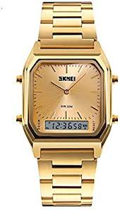 <b>SKMEI</b> Men Fashion Casual <b>Quartz</b> Wristwatches <b>Digital</b> Dual Time ...