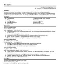 Combination Resume Sample  Administrative  Customer Service happytom co Professional Summary  executive assistant resume example summary       administrative assistant summary