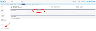 1 creating s invoices kaptio travel for sforce help on the itinerary specific overview screen click s invoices on the left hand side of the screen and the following will appear