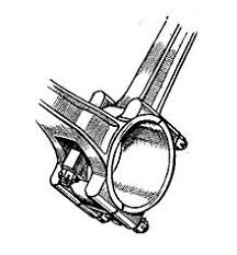 v twin engine fork blade connecting rods most v twin engines